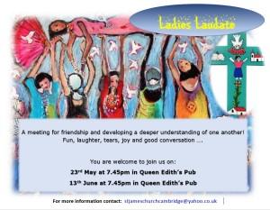 Ladies Laudate flyer May-June 2017