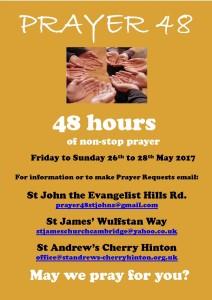 Prayer 48 poster 2017