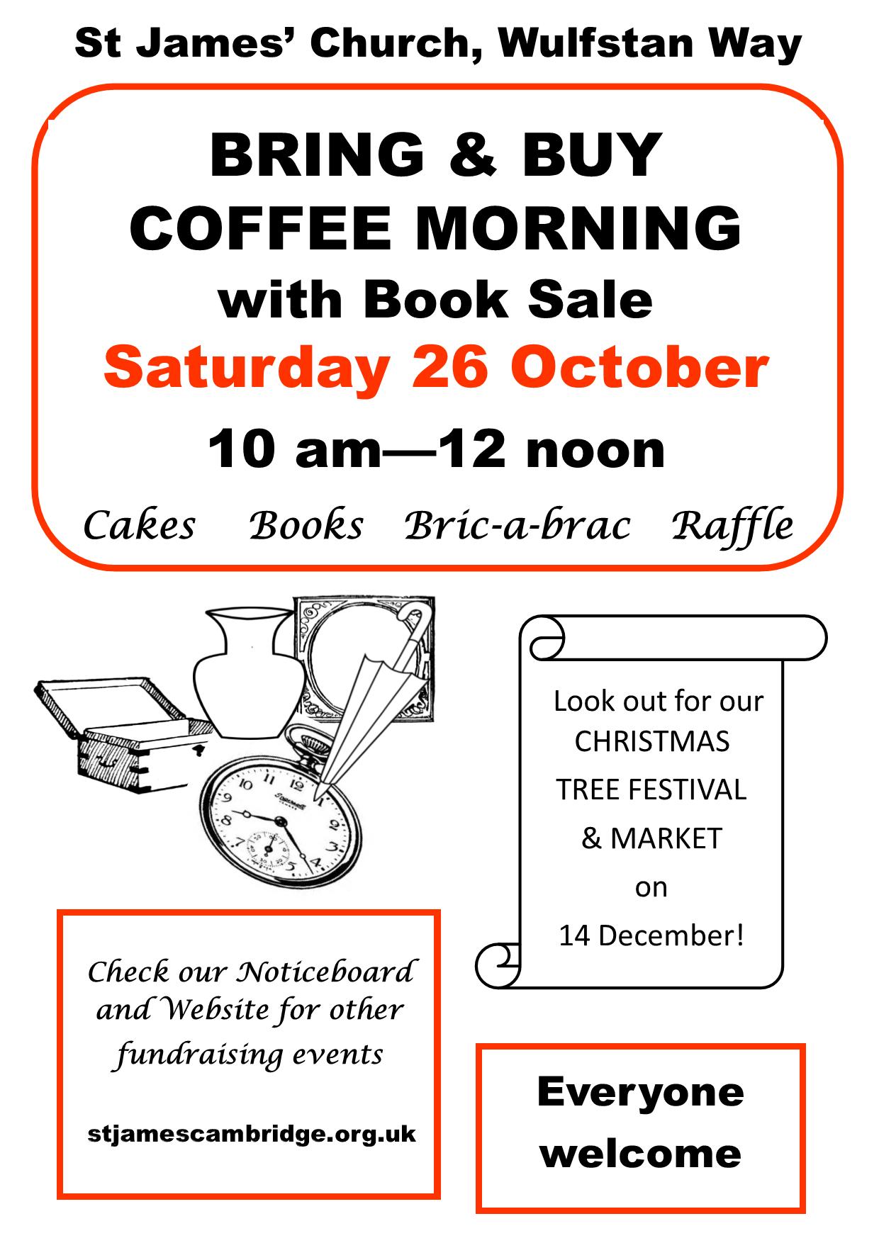 CoffeeMorningPoster, October 2019