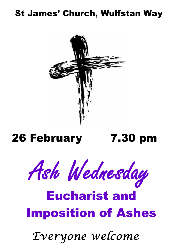 Ash Wednesday Poster