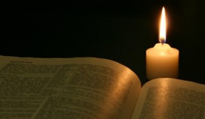 bible candle